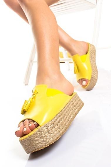 MODAGON Terlik Sarı